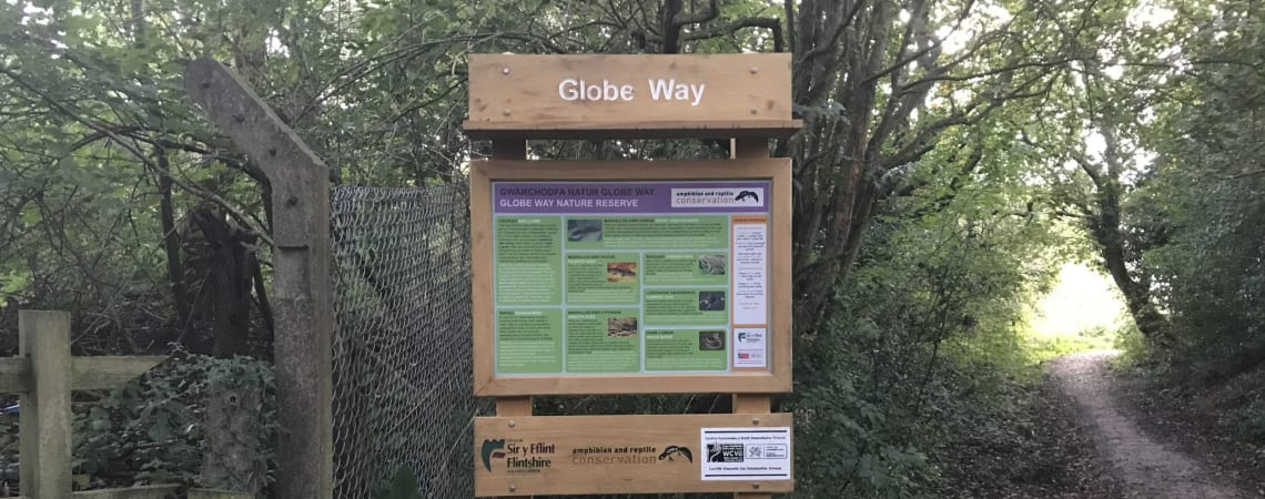 Heritage and wildlife at Globe Way Nature Reserve