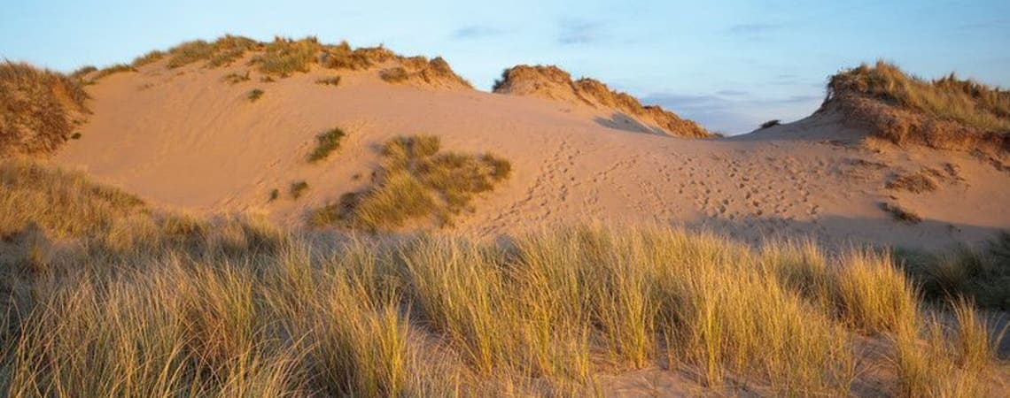 Creative writing - looking at the dunes through time and space